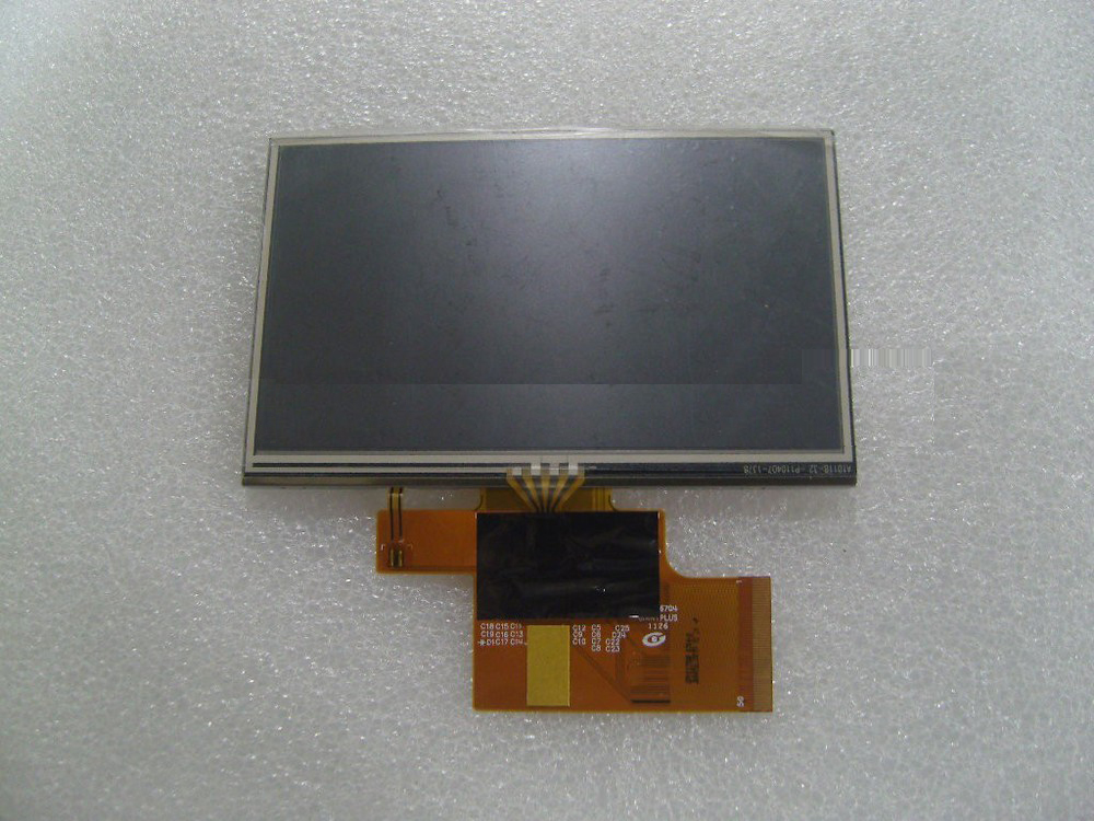 Ling new original 5-inch giant screen LM1135A01-1B 50Pin cable internal display with touch screen GPS<br>
