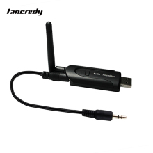 Home Wireless Bluetooth Audio Transmitter Bluetooth TV Audio Transmitter  Transmissor External Antenna Plug & Play Adapter
