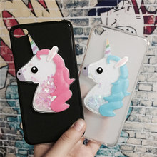 Buy 3D Unicorn Quicksand Liquid Soft Silicone Case Lenovo S90 Phone Cover Cartoon Diamond Funda Coque Fashion Owl Capa for $3.46 in AliExpress store