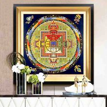 unique elements nice national style different feeling impressive interesting Artwork Aesthetic Wall Picture for Home Decoration(China)