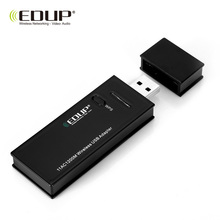 EDUP EP - AC1616 USB WiFi Adapter 1200M Network Adapter Portable Router 2.4 / 5.8GHz Support Windows XP/Vista /7/8 /10 Mac 10.11(China)