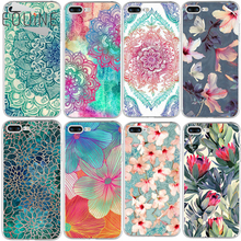 Flowers For iPhone 5 5S SE 6 6S 7 8 Plus X Case For Samsung Galaxy S5 S6 S7 Edge S8 Plus J3 J5 J7 A3 A5 2015 2016 2017 Prime(China)
