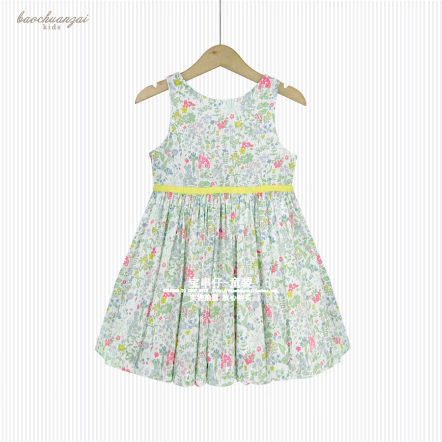 French High-end Brand Childrens Clothes Flower Girl Dresses for Weddings Robe Princesse Fille Summer Dress Girl<br>