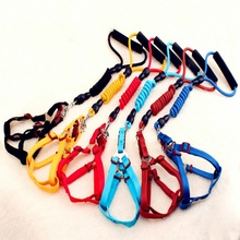 Brand New Dog Leash Pet Harnesses Nylon Walk Dog Lead Leashes Adjustable Collar Harness Outdoor Pet Products