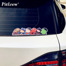 Car-styling Newly Arrival Funny Fashion Car Styling Decor Cartoon Avengers Decorative Art Car Stickers Covers Motorcycle Bicycle(China)