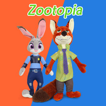 Bebecocoon 30cm Newest Zootopia Rabbit Judy Hopps and Fox Nick Wilde Movie Kids Stuffed Animal Plush Toy Cartoon Doll Gifts(China)