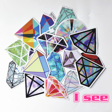18 kind of Diamond logo Car Stickers on Motorcycle Suitcase Phone Laptop cutting dies Vinyl Decal Car styling Sticker  of bomb