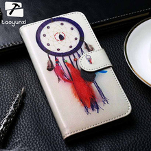 TAOYUNXI Flip Phone Case Cover For HTC U11 HTC Ocean 5.5 inch Cover Painted PU Leather Case Card Slot Holster Housing Bags(China)