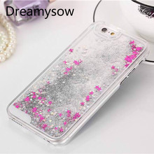 Buy iPhone X 7 Plus 6 6S Plus 4 4S 5 SE 5S Fashion Glitter Bling Colorful Dynamic Sand Quicksand Star Liquid Hard Back Case for $1.58 in AliExpress store