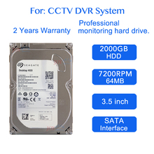 "JORANK DVR NVR CCTV 2 TB Festplatte 1000GB 2000 GB HDD HD Interne SATA 3 7200 RPM 64 Mt 3,5 ""Festplatte Hard drive(China)"