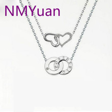 Beijing In Seattle Tang Wei With Love Necklace Pendant Necklace With Double Loop. The Qixi Festival Gift(China)
