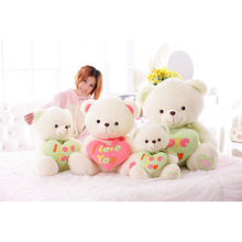 Promotional Price 50cm High Quality Low price Point Drill Hold Love Heart Teddy Bear Lovers Girlfriend gift/Valentine's Day Gift