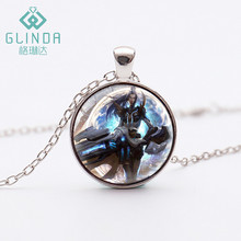 Glinda Caitlyn The Sheriff of Piltover Silver Plated Necklace league of legends New Pulsefire Caitlyn Black LOL Skins Jewelry