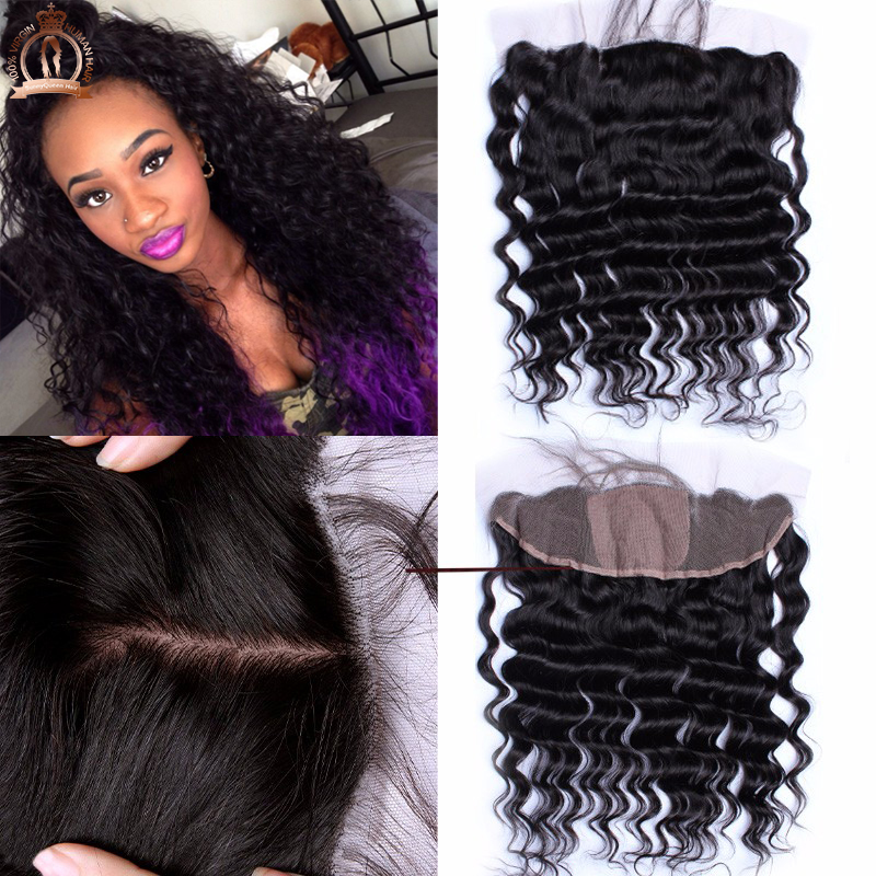 Silk Base Frontal 13x4 Brazilian Loose Wave Virgin Hair 6AGrade Silk Base Lace Frontal Closure With Baby Hair Rosa Hair Products<br><br>Aliexpress