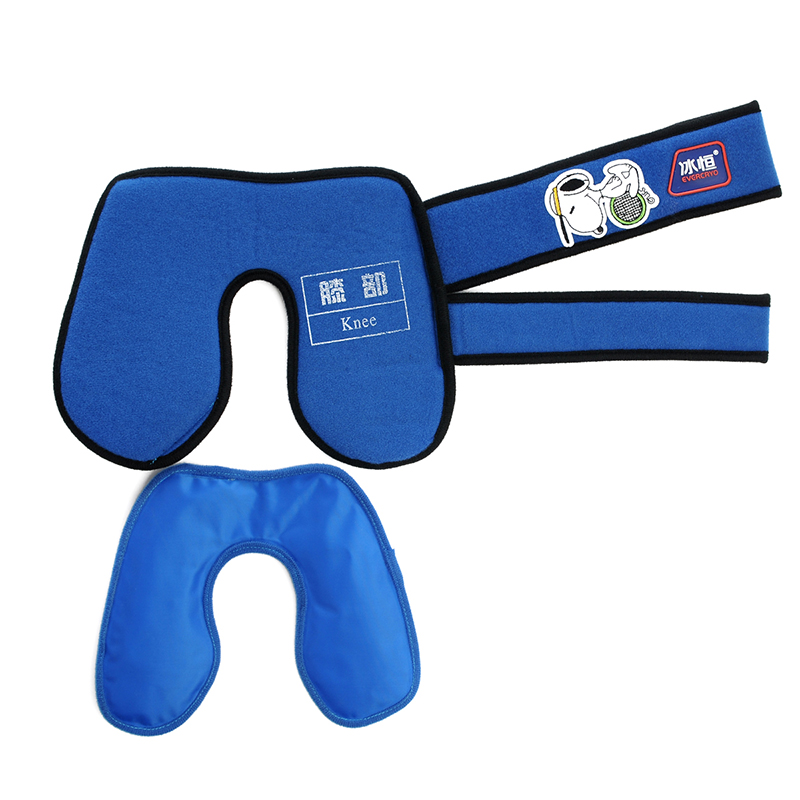 1pcs First Aid Supplies Sport Injury Pain Relief Ice Bag Knee Head Leg Muscle Cold Massage Injury Rehabilitation Kneepad(China)
