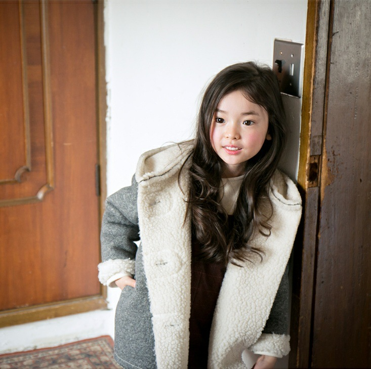 The latest winter coat Korean girls coat Family fittedОдежда и ак�е��уары<br><br><br>Aliexpress