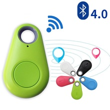 Smart Wireless Bluetooth 4.0 Anti-lost Anti-Theft Alarm Device Tracker GPS Locator   Key Dog Cat Kids Wallets Finder Tracer