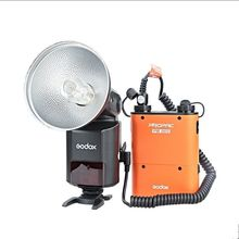 Godox AD360II-C TTL 360W Camera Flash + PB960 Battery Pack for Canon DSLR Camera ( Orange color )