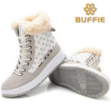 women winter shoes 2017 new fashion snow boots fur lining lady short shoes plus big size 36 to 41 women ankle winter warm boots