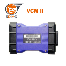 Top Professional VCM II For LandRover Diagnostics Tool Scanner Latest Version V143 VCM2 JLR for JLR VCM 2 IDS OBD2 Scanner VCMII(China)