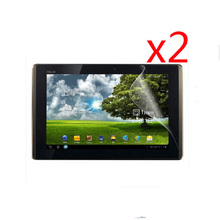 2x Clear Films +2x Clean Cloth  LCD Screen Protector Protective Film Guards For Asus Eee Pad Transformer TF300 TF300T TF300TG