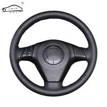 Artificial Leather car steering wheel braid for  Old Mazda 3 Mazda 5 Mazda 6 2003-2009/Custom made dedicated Steering-Wheel