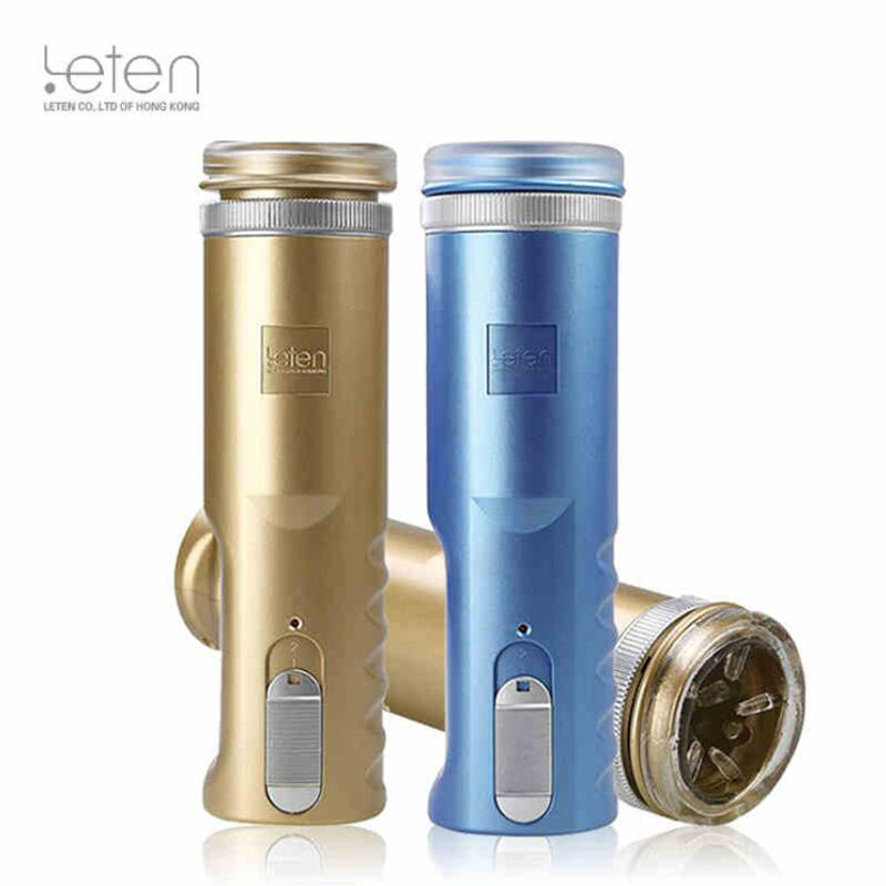 Leten Retractable male Masturbator, Male Sex Machine, Thrusting Piston Masturbation Cup,Sex Toys ,Sex Products for Men<br>
