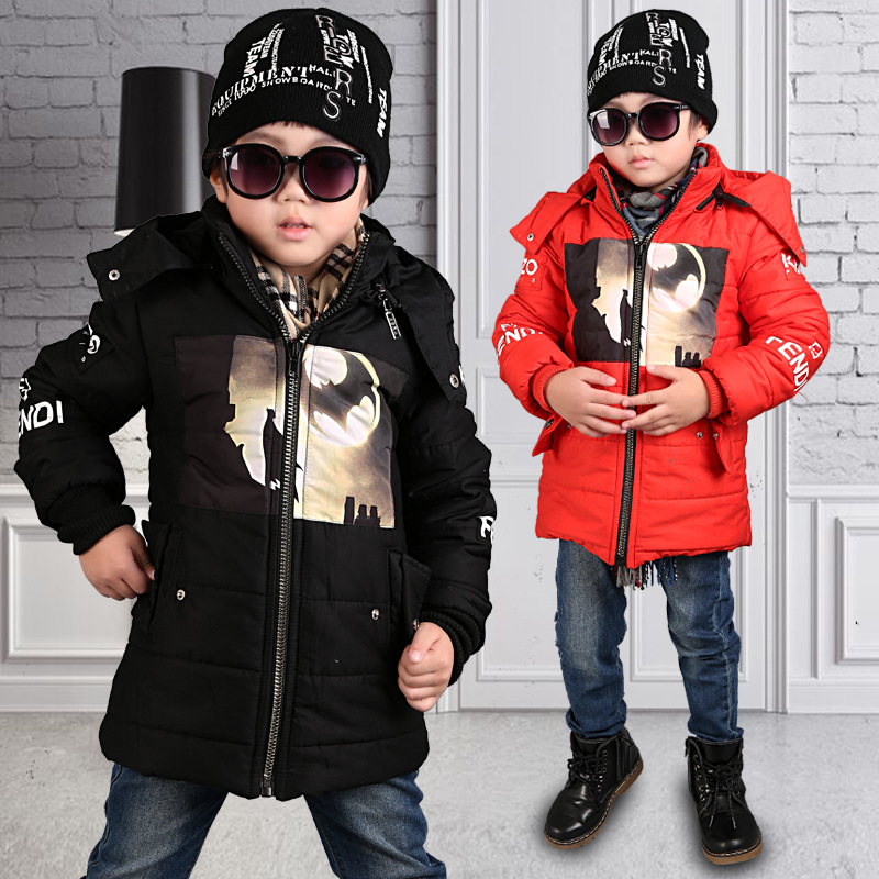 New 2017 Childrens Outerwear Boys Winter Fashion Casual Warm Hooded Coat Children Clothes boy Down Jacket kid jackets 4-14 yearОдежда и ак�е��уары<br><br><br>Aliexpress