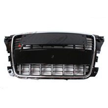 S3 Style Chrome Frame Black grill Front Bumper Middle Grill For Audi A3 2009-2012