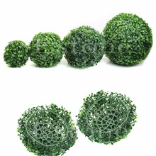 New Artificial Plant Ball Tree Boxwood Wedding Event Home Outdoor Decoration Hot(China)