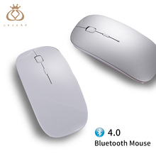 New Bluetooth 4.0 Wireless Mouse Mini Rechargeable Computer Mouse for Dell Acer Hp Asus Mice Optical Silent Click for Mac/Win10(China)