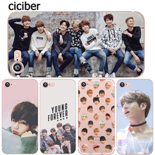 BTS Korea Bangtan Boys Young Forever JUNG KOOK V Spring Day Phone Case for iphone 5s 6 6s 7 plus se 5 Silicone Clear Soft TPU(China)