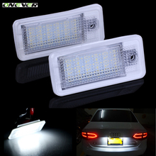 Onever Error Free High quality LED License Plate White  xenon Light Lamp Bulb Car For Audi A3 S3 8P A4 B6 B7 A8/S8 8E 8H RS4 Q7