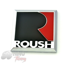Red Black Metal ROUSH Badge Auto Accessories Emblem Auto Side Wing Tailgate For Expedition Super Duty 20296