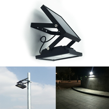 All Metal IP65 Waterproof 24LED Solar LED Flood Light Auto ON/OFF Outdoor Light for Garden Yard Wall Lamp 3 Power Mode(China)
