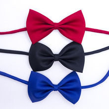 Fashion School Boys girls Children Kids Baby Wedding Elastic bow Tie Necktie Wedding Party Performance Accessories 1pcs/lot LD01