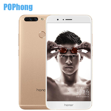 Original Huawei Honor V9 Mobile Phone 5.7 inch 4GB RAM 64GB ROM 2K Screen Dual SIM Kirin 960 Octa Core Android 7.0 QuickCharger