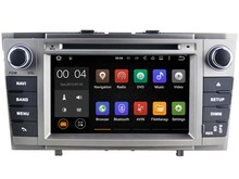 Android 7.1 Car Dvd Navi Player FOR TOYOTA AVENSIS 2008-2013 audio multimedia auto stereo support DVR WIFI DAB OBD all in one(China)