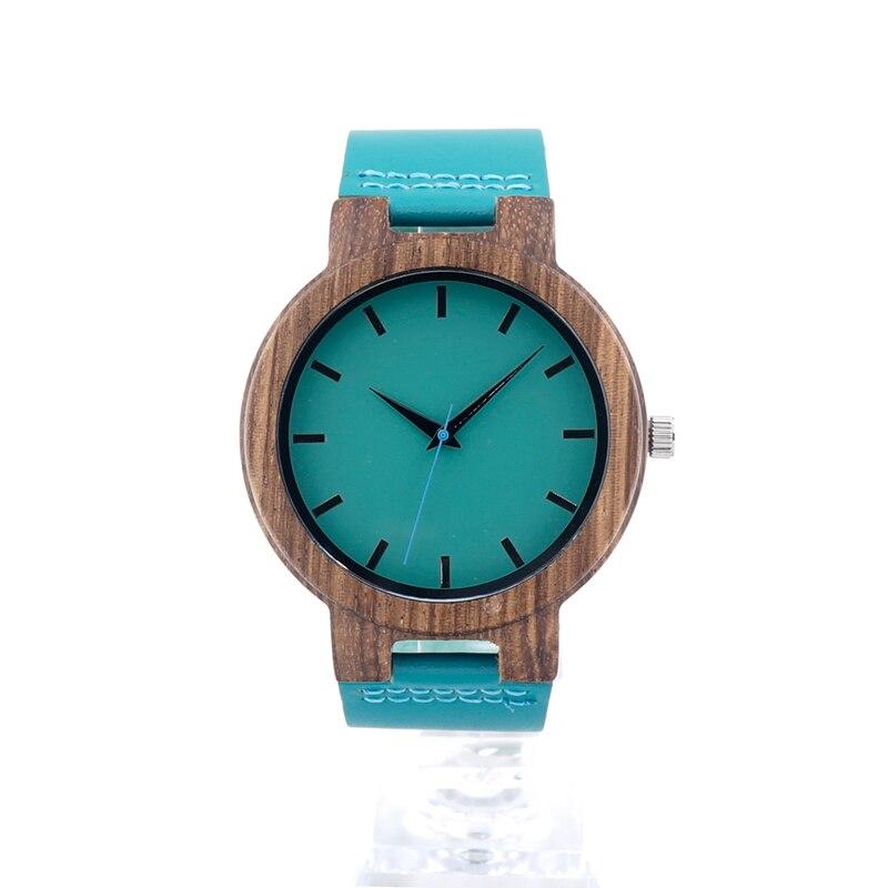 BOBO BIRD C28 Mens Zebra Wood Wristwatch Blue Dial Leather Quartz Watches in Gift Box Relogio Masculino Mujer 2016<br><br>Aliexpress