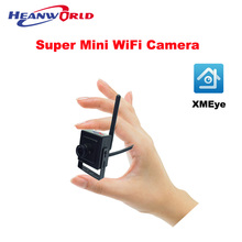 The Minimum Smallest WiFi Camera HD 720P Home Security IP Camera Wireless Smart View by Mobile Phone APP Email Alarm Micro SD