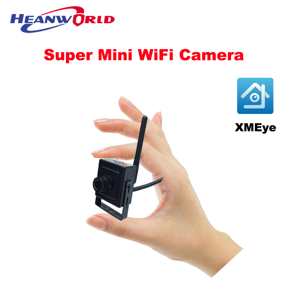 The Minimum Smallest WiFi Camera Audio HD 720P Home Security IP Camera Wireless Smart View by Mobile APP Email Alarm Micro SD<br>