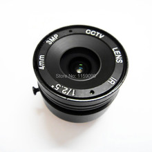 "1/2.5"" 4mm CS New IR Infrared HD 3mp angle For CCD IP Camera Fixed Iris Mount lense CCTV(China)"