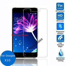 For Doogee X10 Tempered Glass Film Screen Protector Glass Film For Doogee X10 Cellphone With Safe Package Guard Safety Protect