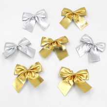 12PCS 2Colors High Quality Of Christmas Tree Bow Decoration Baubles For Christmas Decoration Supplies
