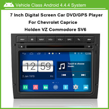 Android latest smart car machine operating system Car DVD player FOR Chevrolet Caprice Holden VZ Commodore SV6(China)