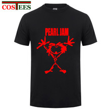 Pearl Jam Alive male hip hop fashion t shirts short sleeve cotton man o neck heavy metal music tees tops rock band t-shirts men(China)