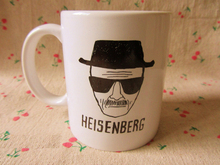 New Quality White Ceramic Coffee Mug Cup Of Breaking Bad Heisenberg(China)