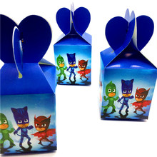 Buy Cartoon Pj Masks 12PCS/lot Lovely Candy Box Decor Party Happy Birthday Party Decoration Supplies Baby Shower Child Favor for $5.73 in AliExpress store