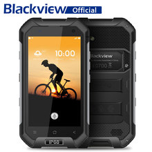 Blackview BV6000S Smartphone IP68 Waterproof MT6735 Quad Core 4200mAh 2GB RAM 16GB ROM 13MP 4.7 inch Android 6.0 4G Cellphone(China)