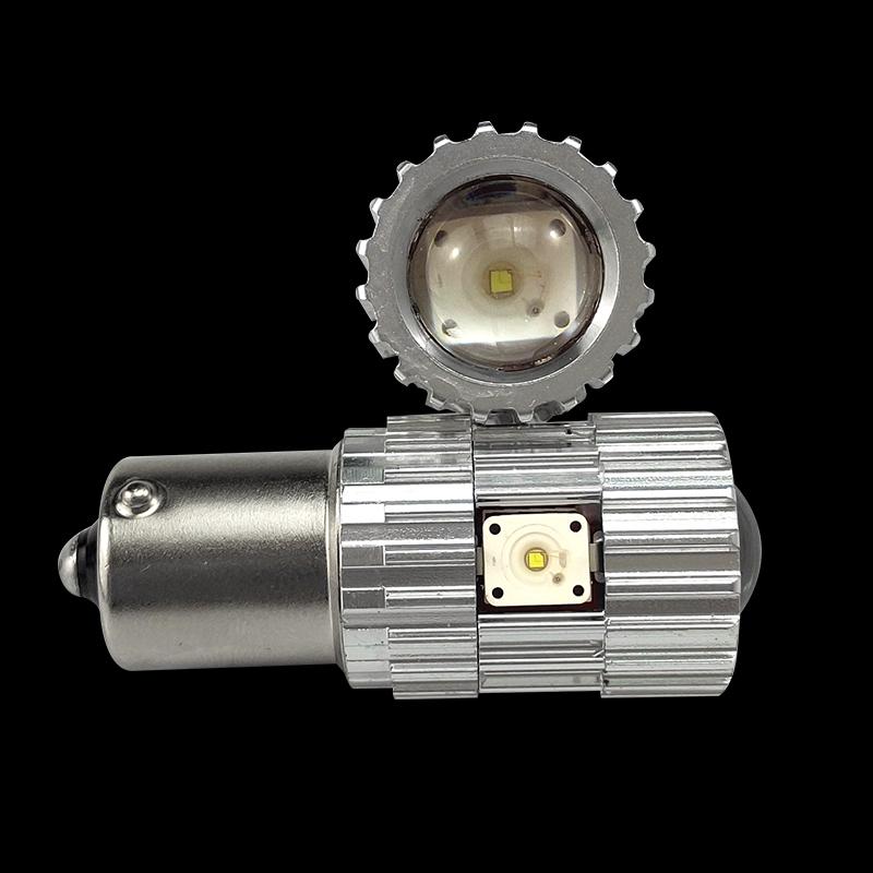 CNSUNNYLIGHT 2pcs 1156 LED BA15S P21W BAU15S PY21W S25 5Osram Chips 6000K White DRL Car Tail Fog Bulbs Brake Light Reverse Lamp (4)